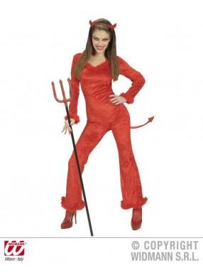 Женский костюм озорного чертика