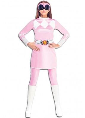 Женский костюм розового рейнджера