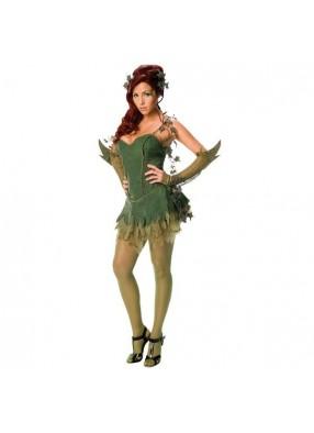 Женский костюм зеленого демона