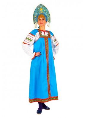 Женский национальный хлопковый костюм