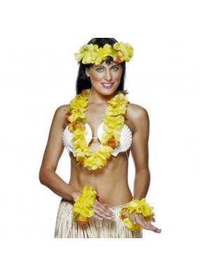 Жёлтый гавайский набор