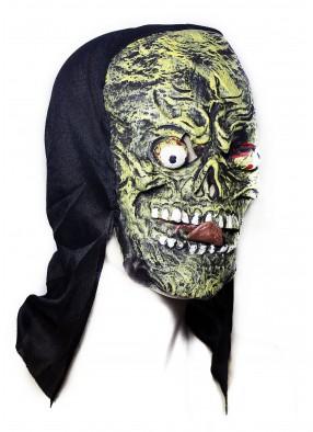 Жуткая латексная маска с языком фото