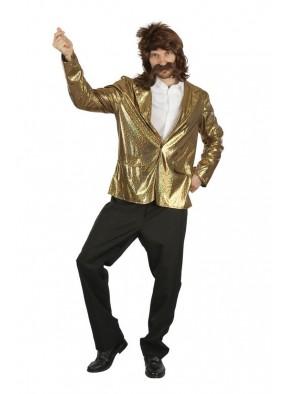 Золотая куртка в стиле семидесятых
