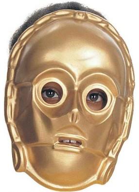 Золотая маска Три-пи-о из фильма Звездные войны