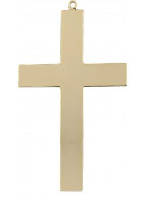 Золотистый крест священника