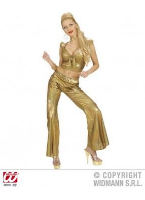 Золотой топ от костюма диско