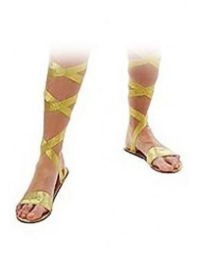 Золотые сандалии богини фото