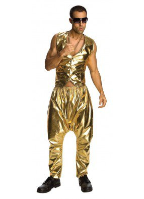 Золотые штаны МС Хаммера фото