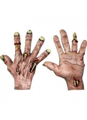 Зомби облезающие руки
