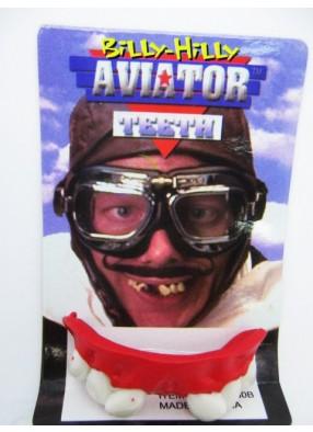Зубы авиатора со щелью