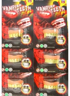 Зубы металлические 1 фото