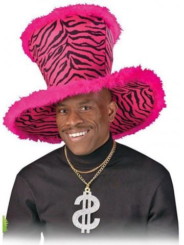 Большая розовая шляпа