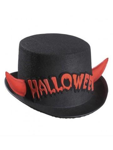 Цилиндр с рогами Halloween 1 фото