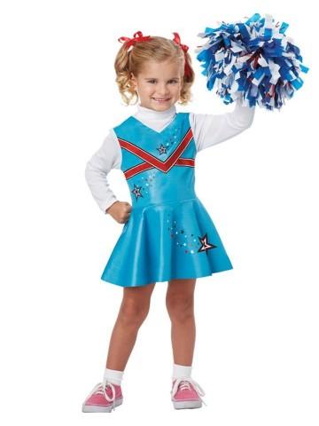 Детский костюм чирлидерши фото
