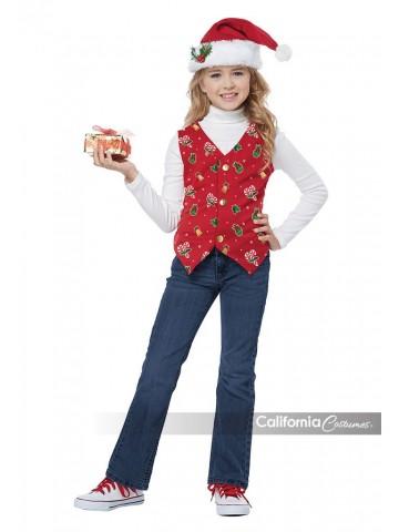 Детский костюм помощницы Санты