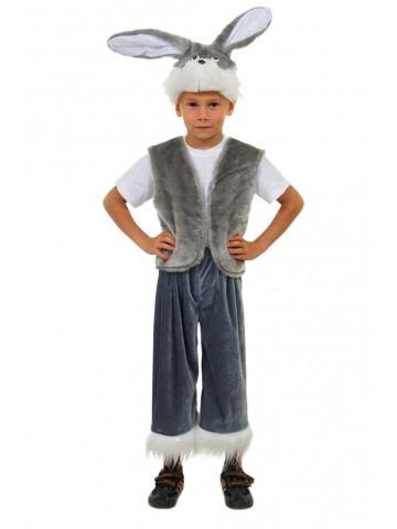 Детский костюм серого зайчика