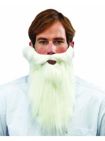 Гладкая борода Деда Мороза