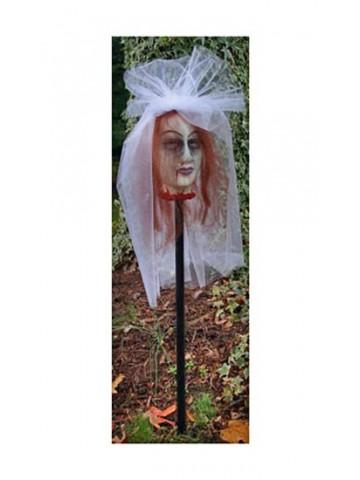 Голова невесты-вампирши 85 см