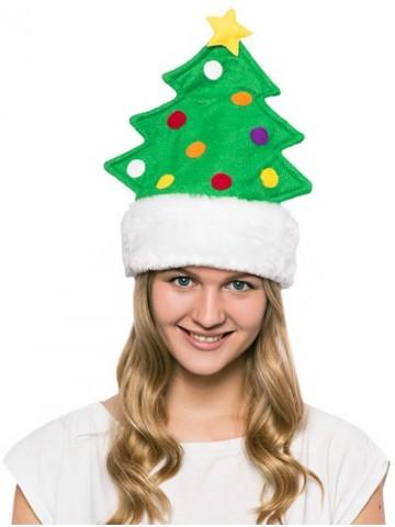 Карнавальная шапка Елка на Новый Год