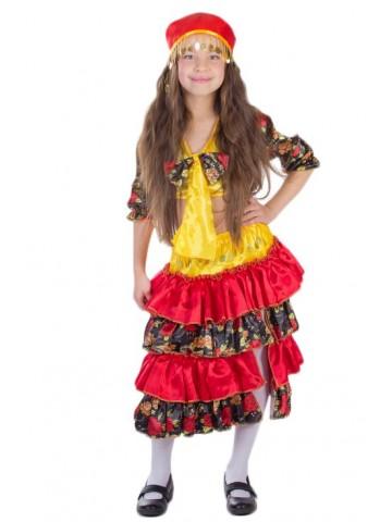 Карнавальный костюм цыганки