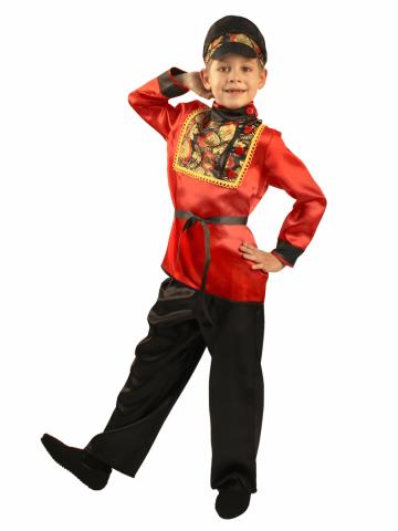 Карнавальный костюм Хохлома мальчику