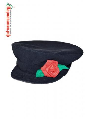 Картуз с розой