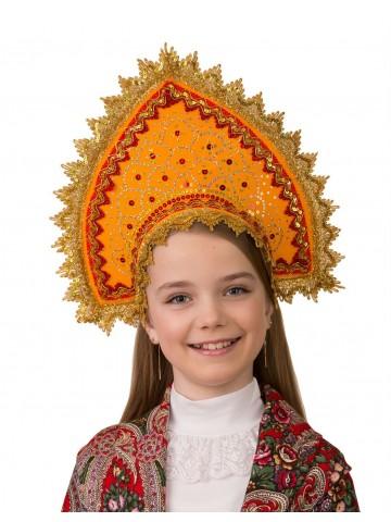 Кокошник Янтарный фото