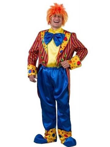 Костюм клоуна Кеши красный