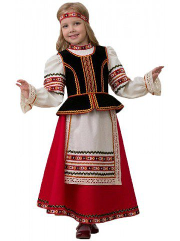 Костюм Славянский девочке фото