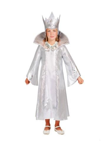 Костюм белой снежной королевы для девочки