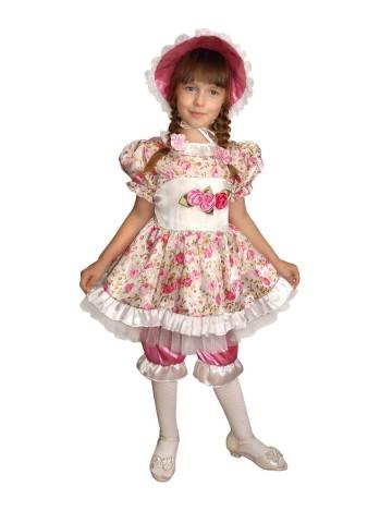 Костюм розовой куклы для девочки