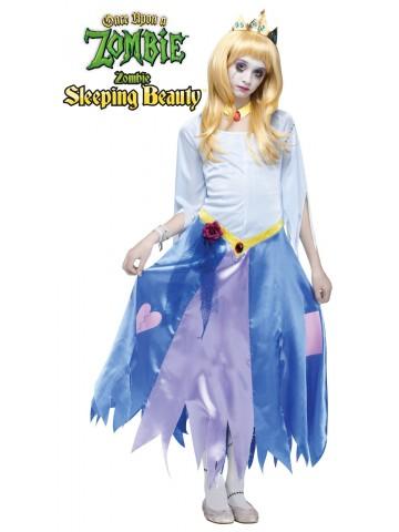 Костюм Спящей Красавицы-зомби