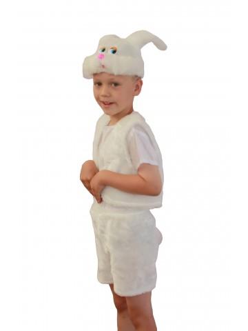 Костюм зайчик белый