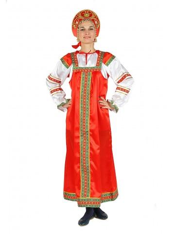 Красный костюм Машенька