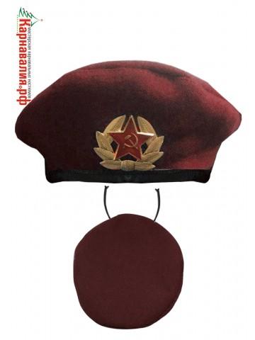 Красный берет десантника