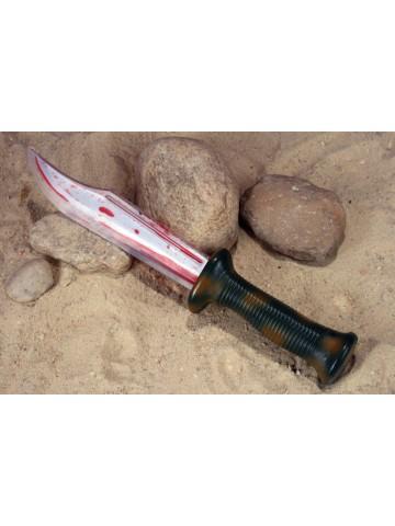 Кровавый нож выжившего