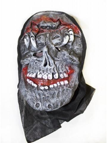 Латексная маска черепа фото