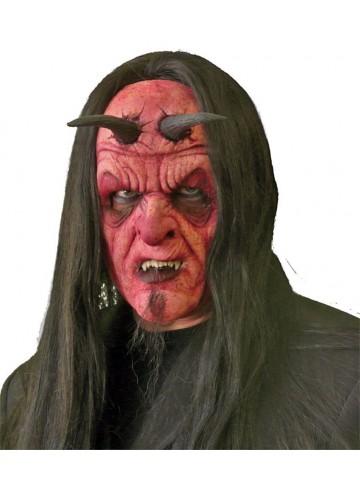 Латексный протез на лицо Демон