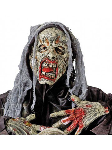 Маска и перчатки Сумасшедшего Зомби