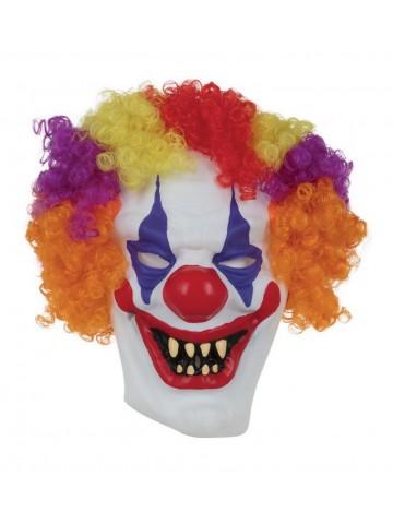 Маска клоуна с волосами
