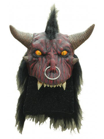 Маска шлем адского демона
