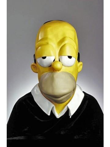 Маска уставшего Гомера Симпсона