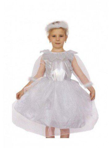 Маскарадный костюм снежинки