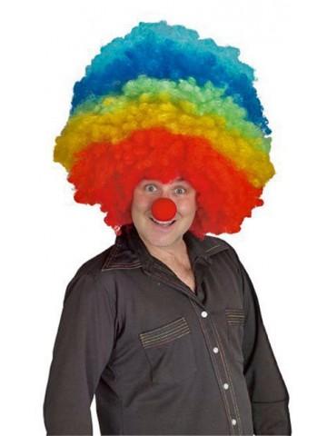 Мега мульти парик клоуна