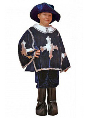 Маскарадный костюм мушкетера