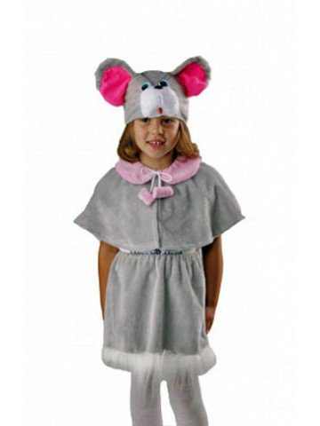 Детский костюм мышки