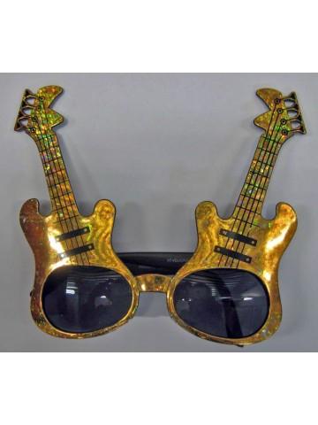 Очки золотые гитары