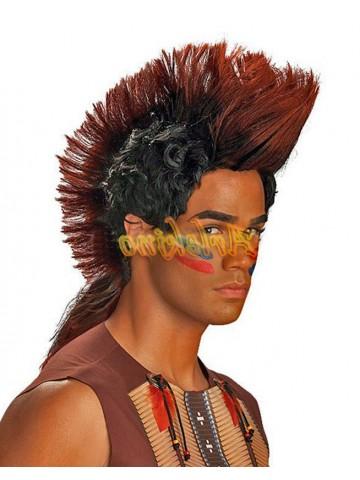 Парик индейца воина