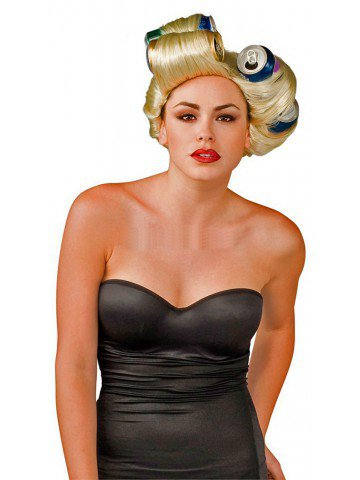 Парик Леди Гага креативный