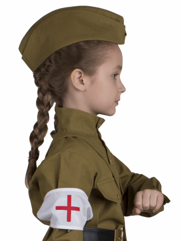 Повязка военной медсестры фото